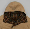 Kaptain Sunshine - Reversible Mt. Coat, Khaki / Brown Check - image 4