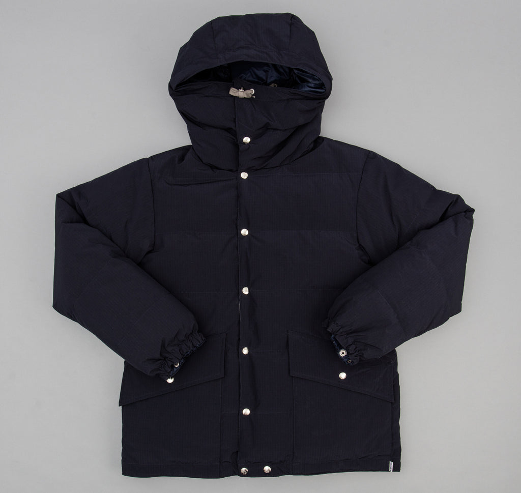 Double Tube Expedition Down Parka, Navy