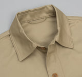 Kaptain Sunshine Mackinaw Shirt Jacket, Beige