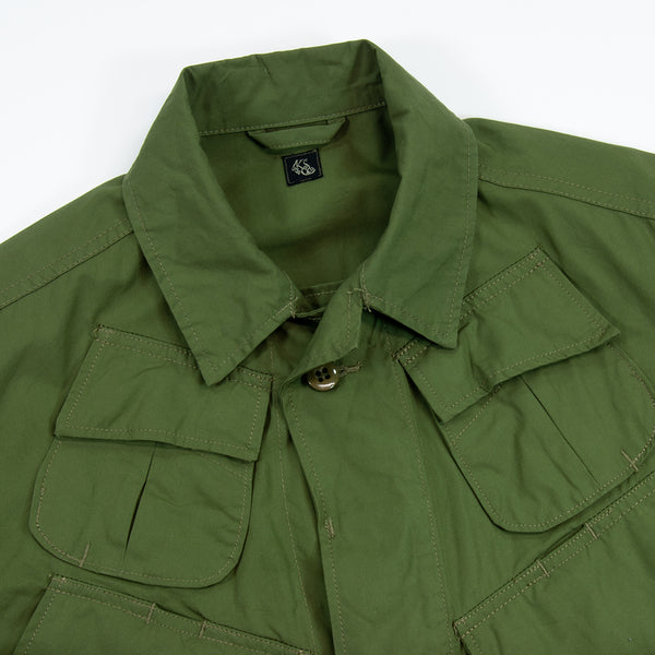 Kaptain Sunshine BDU Jacket, Olive Cotton Oxford
