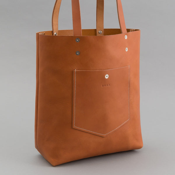 - Leather Tote, Russet -