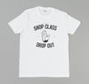 North Manual Vocational - Drop Out T-Shirt, White -