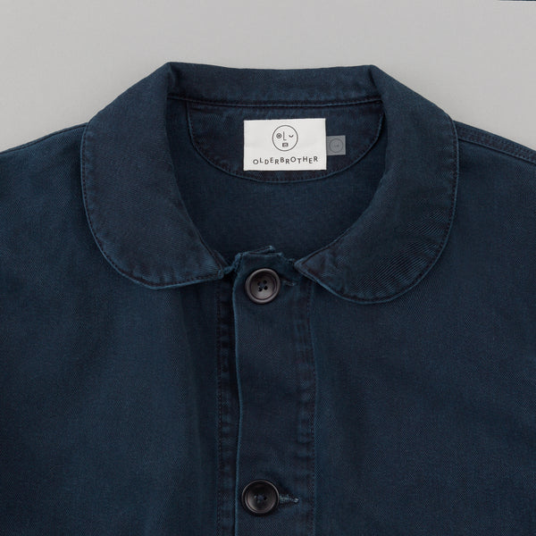 "Older Brother - Chore Coat, ""Hand-Me-Down"" Indigo Plus -"