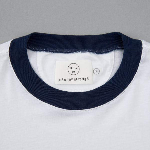 Older Brother - Ringer Tee, Indigo -