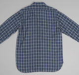 Orslow - Work Shirt, Indigo Check #3 -