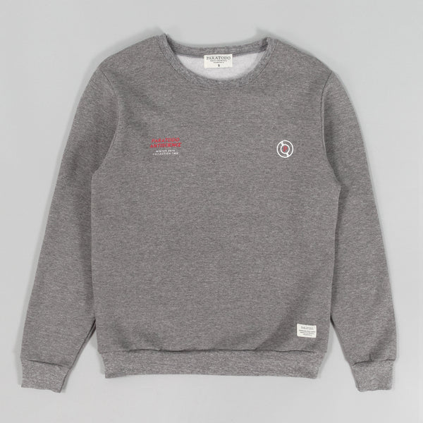 "Paratodo ""Antiscience"" Crewneck Sweatshirt, Heather Grey"