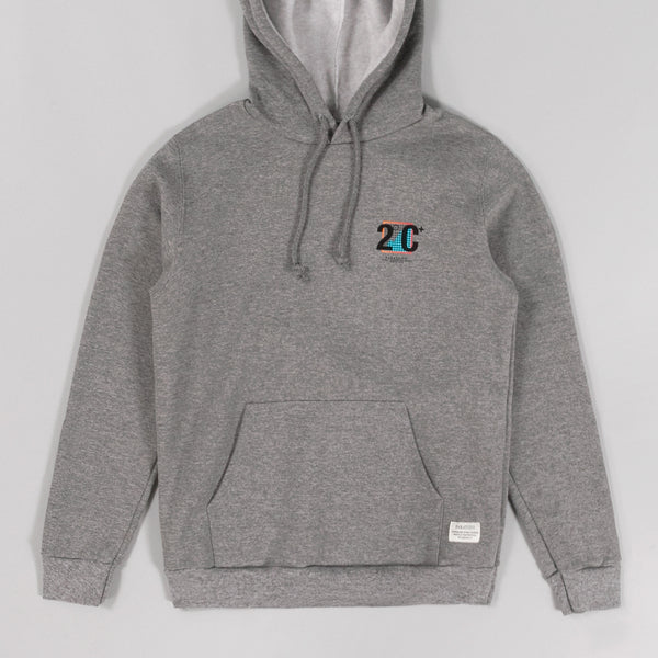 "Paratodo - ""Trek"" Hooded Sweatshirt, Heather Grey -"