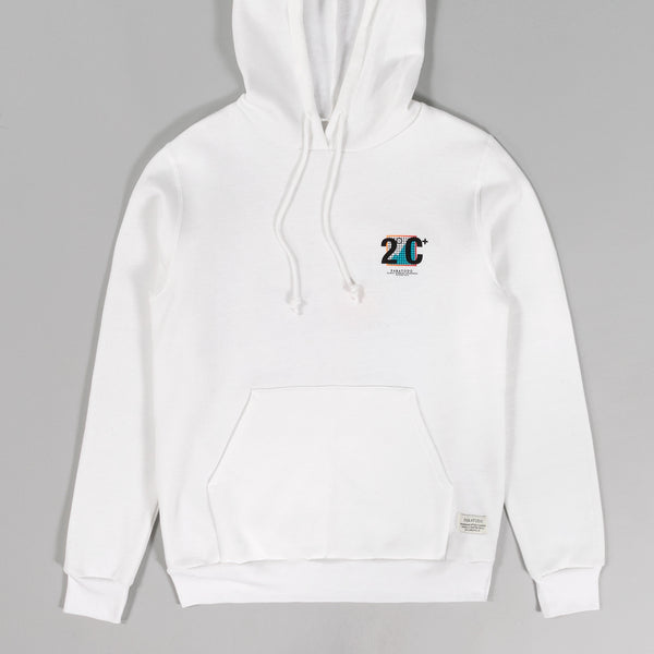 "Paratodo - ""Trek"" Hooded Sweatshirt, White - image 2"