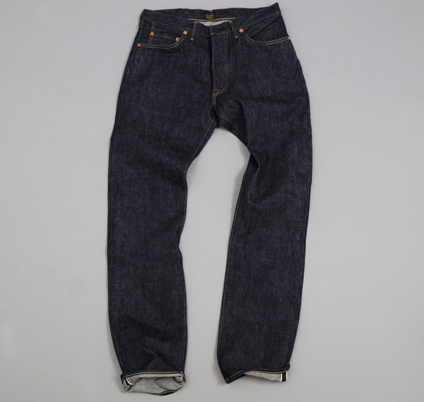 "Lot 304 ""Slick"" Blue Jeans, 13.5 oz Selvedge Denim"