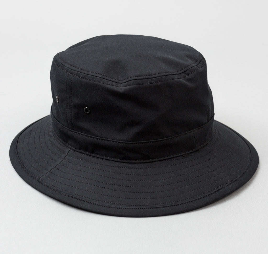 Cyclist Bucket Hat, Black