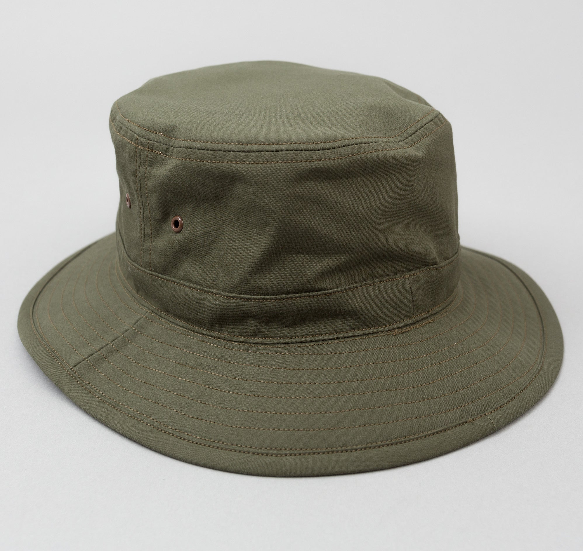 Phigvel Cyclist Bucket Hat, Olive
