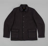 Old Wool Sports Jacket, Dark Navy