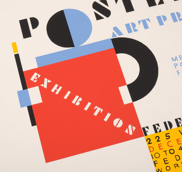 "Posters of the WPA ""Posters And Art Processes"" Hand-Printed Poster"