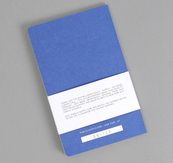 Public-Supply - Dot Grid Notebook, Blue 02 - image 2