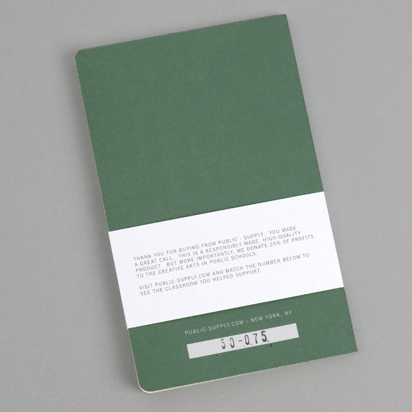 Public-Supply - Dot Grid Notebook, Green 01 -