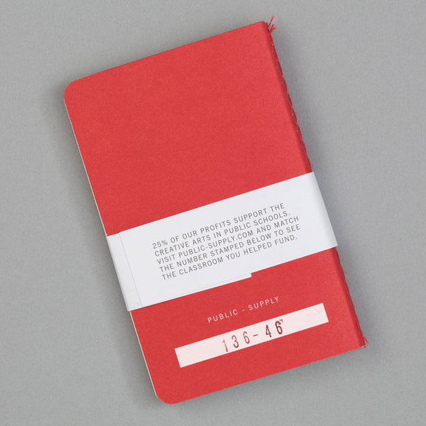 Public-Supply - Dot Grid Pocket Notebook 3-Pack, Red 02 - image 2