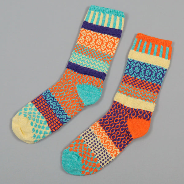 "Solmate Socks ""Dawn"" Recycled Cotton Socks"