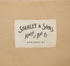 Stanley & Sons - Market Bag, Natural Canvas -