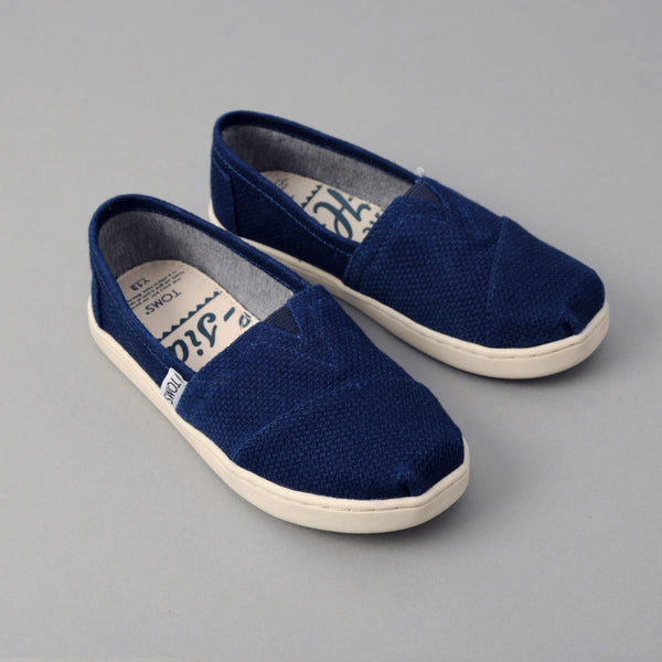 TOMS - TOMS x The Hill-Side Youth Classic, Lightweight Indigo Sashiko -