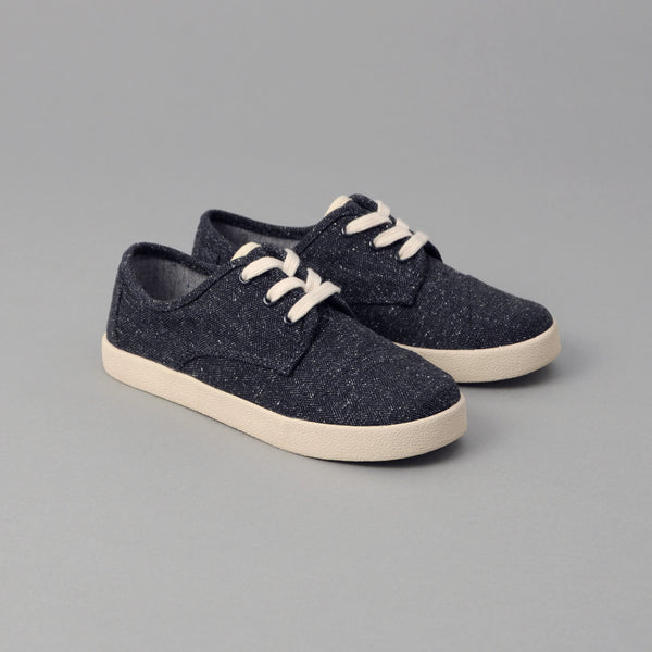 TOMS TOMS x The Hill-Side Youth Paseo, Navy Herringbone Tweed