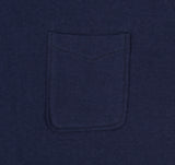 Teasy - Boatneck Pocket T-Shirt, Navy -