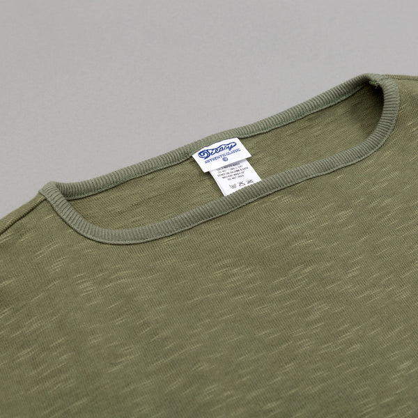 Teasy - High-Density Cotton Basque Shirt, Tea Green -