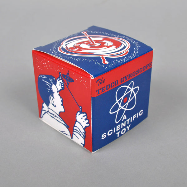 Tedco Toys - Gyroscope, 1950's Retro Packaging -