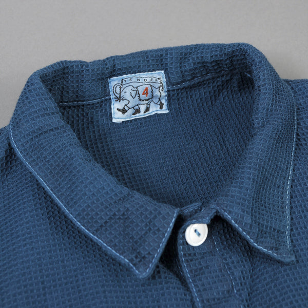 Tender Co. - Square Tail Short Sleeve Shirt, Beekeeper's Cloth, Woad - image 2