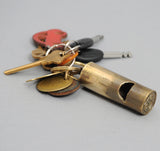 Type 012 Lost Wax Cast Brass Whistle
