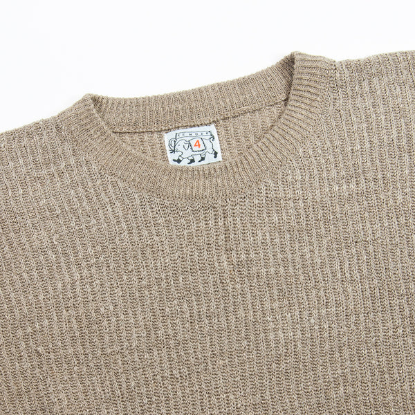 Tender Co. - Type 722 Rib Pullover Sweater, Rinse Linen