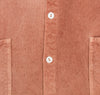 Type 420 Tail Shirt, Ochre Unfinished Box Cloth