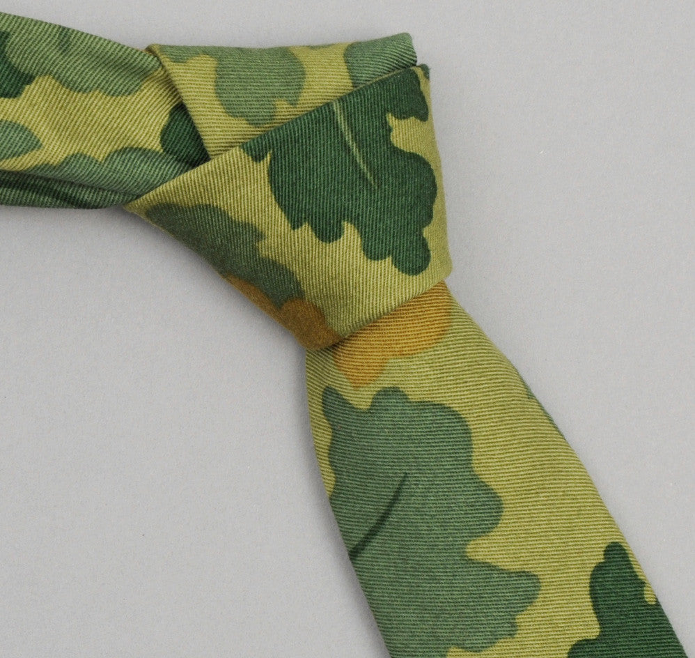 The Hill-Side - 172 - Mitchell Camo Twill Necktie - ST1-172 - image 1