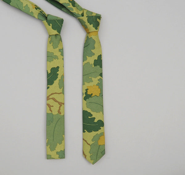 The Hill-Side - 172 - Mitchell Camo Twill Necktie - ST1-172 - image 2