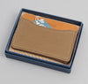 The Hill-Side - 2/2 Herringbone Twill Card Case, Dark Tan - CC1-193 - image 5