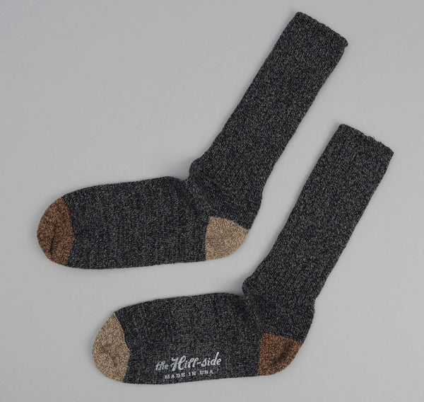 The Hill-Side 2-Pack Socks, Charcoal