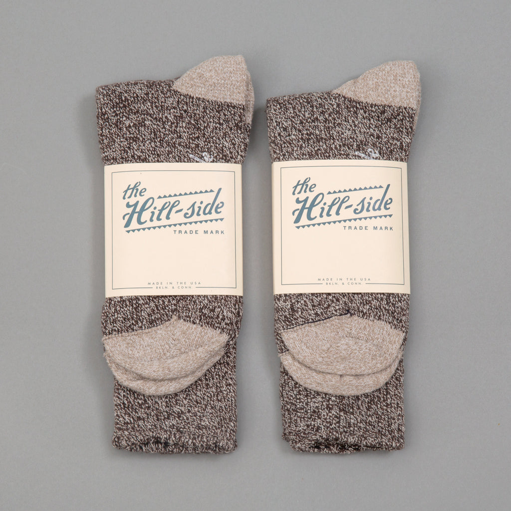 The Hill-Side 2-Pack Socks, Salt & Pepper