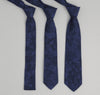 The Hill-Side - 206 - Jacquard Camo Necktie, Navy - ST1-206 - image 1