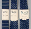 The Hill-Side 303 - Selvedge Indigo Wabash Dot-Stripe Necktie