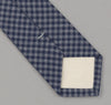The Hill-Side 330 - Selvedge Covert Gingham Chambray Necktie, Indigo / Indigo
