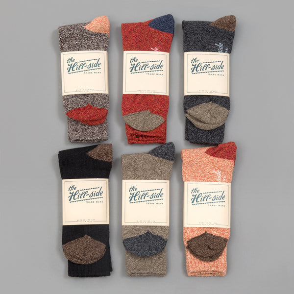 The Hill-Side 6-Pack Socks, Assorted