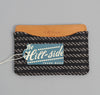 The Hill-Side - Beach Cloth Stripe Card Case, Black / Beige - CC1-202 - image 4
