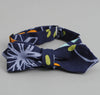 The Hill-Side Big Crazy Floral Print Bow Tie, Navy