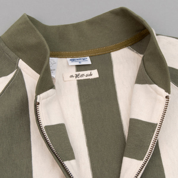 The Hill-Side - Blouson Zip Jacket, Olive Stripe (TH-S x Teasy) - JK16-02 - image 2