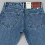 The Hill-Side - Blue Jeans, TH-S Mills 14 oz Okayama Selvedge Denim, Heavy Stonewash - JE1-363A - image 5