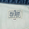 The Hill-Side - Blue Jeans, TH-S Mills 14 oz Okayama Selvedge Denim, Heavy Stonewash - JE1-363A - image 9