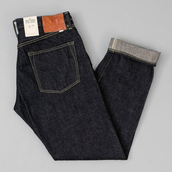The Hill-Side - Blue Jeans, TH-S Mills 14 oz Okayama Selvedge Denim, One-Wash - JE1-363 - image 1