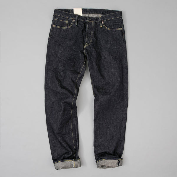 The Hill-Side - Blue Jeans, TH-S Mills 14 oz Okayama Selvedge Denim, One-Wash - JE1-363 - image 2