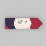 The Hill-Side - Bow Tie, Indigo/Red Flannel, Buffalo Check - BT1-380 - image 2
