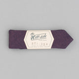 The Hill-Side - Bow Tie, TH-S Mills Navy Warp x Coral Weft Chambray - BT1-368 - image 2