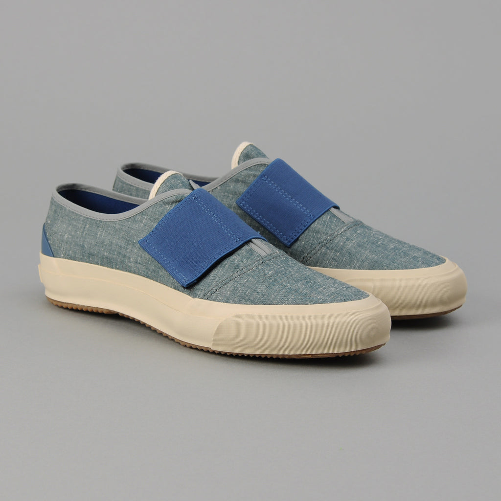 The Hill-Side - Bridge Low, Extra Neppy Indigo Chambray - SN12-324
